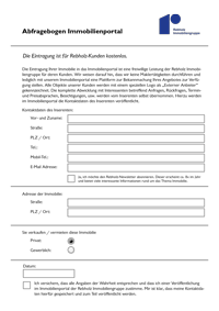 Aufnahmeantrag als PDF-Formular