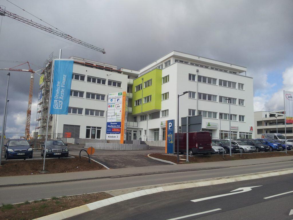 Außenansicht Gesundheits- und Dienstleistungszentrum Villingen-Schwenningen
