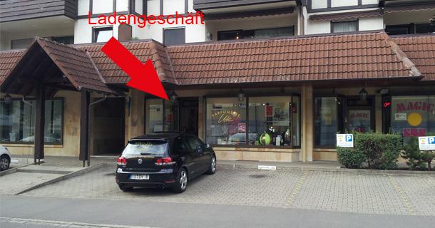 Foto von aussen: Ladengeschäft Bad Dürrheim, Salzstraße 4