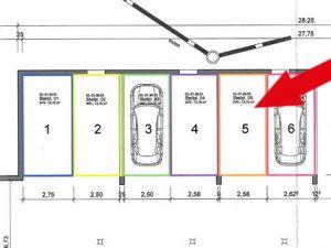 Zu verkaufen: Tiefgaragenstellplatz Nr. 5, Scheffelstraße 10-16, Bad Dürrheim